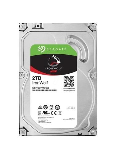 "Seagate Seagate Ironwolf Nas Hdd 2Tb 3.5"" 5900Rpm 64Mb Cache Sata 3 Sabit Disk St2000Vn004 Renkli"